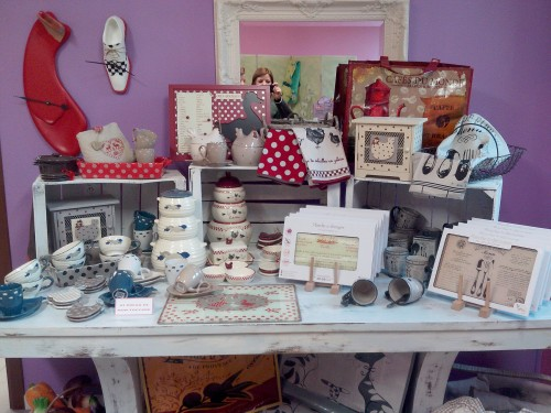 faye import, shabby chic, country chic, gifts on the road